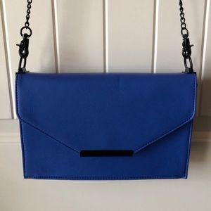 Blue convertible purse